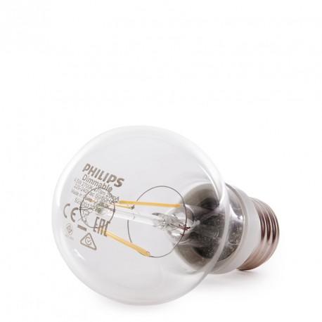 PHILIPS LED Filament Bulb 4,5W 470Lm E27 A60 - Warm White
