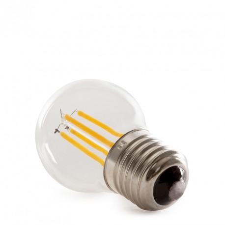 Διακοσμητικός λαμπτήρας LED Vintage Filament G45 E27 4W 400Lm