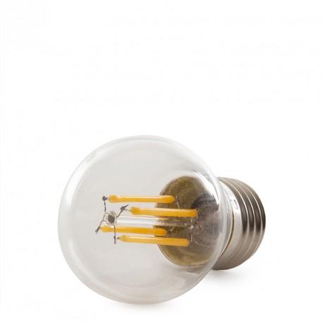 """Lâmpada de Filamento LED """"Vintage"""" G45 E27 4W 400Lm"""