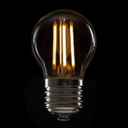 LED-Lamp Filament Vintage G45 E27 4W 400Lm