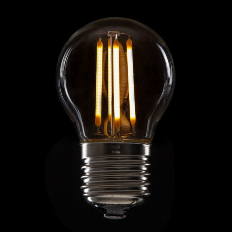 """""""Vintage"""" LED Glühbirne G45 E27 4W 400Lm"""
