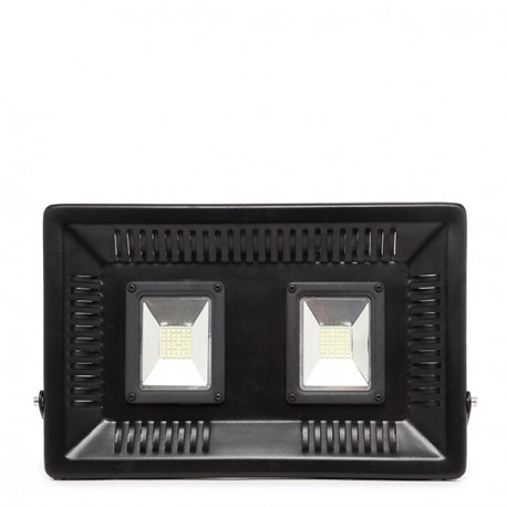 Pack of 2 LED Outdoor Floodlight SUPERSLIM 100W 9000lm 30.000H