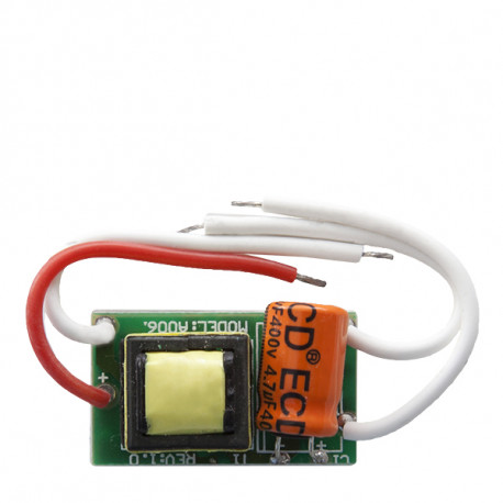 Integrated LED Driver 2-3W 3,3-10,5V 280-300mA