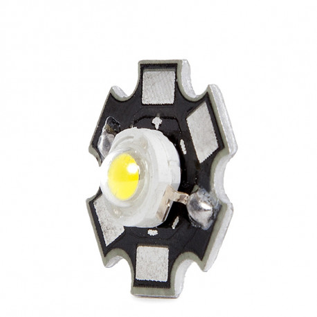 LED High Power 35x35 with Sink 1W 120Lm 50,000H