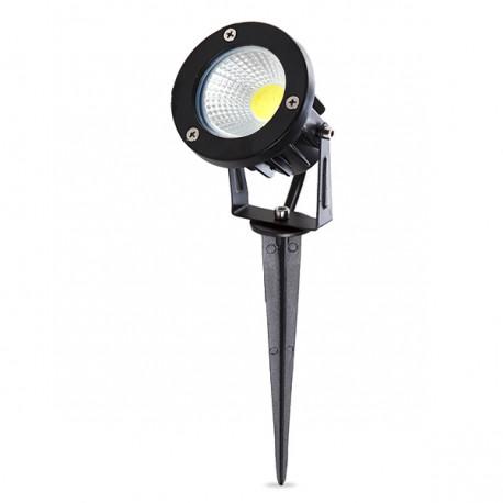 Foco de LEDs con Pincho para Jardínes 7W 630Lm 50.000H