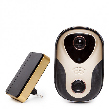 WIFI Camera/Door Chime - LED Light - Motion Detection