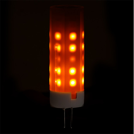 Led Flame Effect.Led Flame Effect Light Bulb G4 2w 25000h