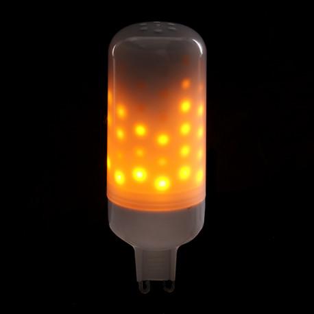 Lampadina a effetto fiamma led g9 3w 25000h for Lampadine g9 led