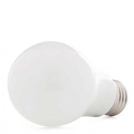 Pack de 5 Lámparas Bombilla de LEDs Esférica Aluminio/PC E27 5W 450Lm 30.000H