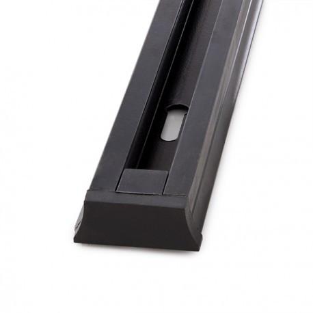 Carril para Focos de LEDs 2M Color Negro