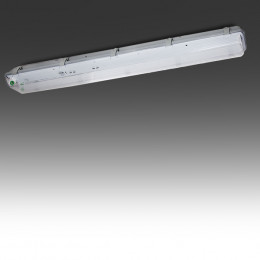 Luminária Estanque IP65 2 X Tubo de LED 1500Mm ABS/Pc