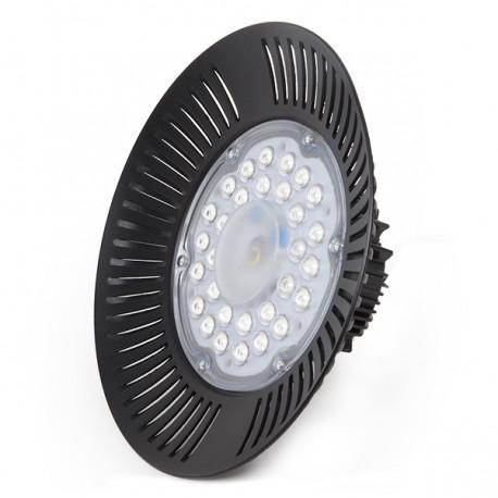 "LED ""High Bay"" UFO 100W SMD 2835 IP65 90º 10000Lm 50.000H"