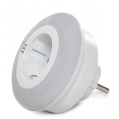PDR*LAMPADA LUCE NOTTURNA LED  SENSORE MOVIMENTO LAMPADA EMERGENZA LUCE BIANCA