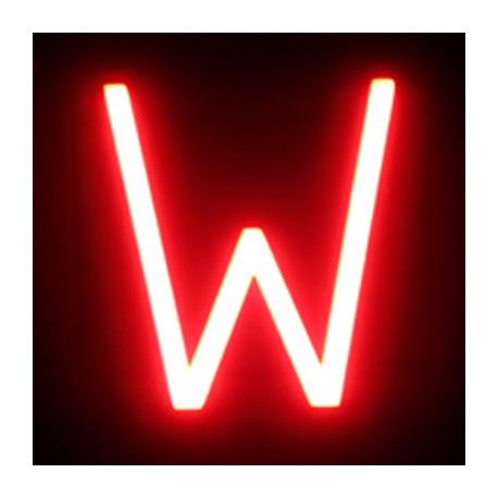 Letter LED Neon W Width 146Mm Height 161Mm Depth 38Mm