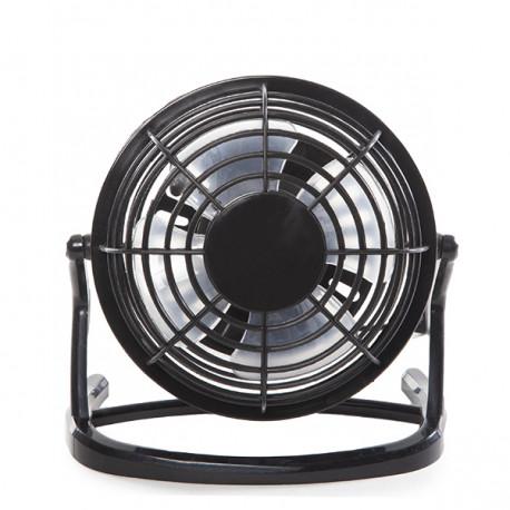 Mini Ventilador de Sobremesa USD 5VDC - Color Negro