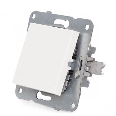 Virrankääntäjä Panasonic Karre 10A 250V / Metal Kehys Kanssa Claws / White