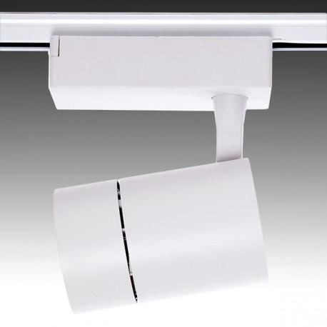 Foco de LEDs para Carril Monofásico 30W 2600Lm 30.000H