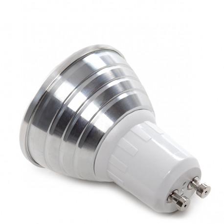 GU10 RGB LED Spot 3W with Remote Control