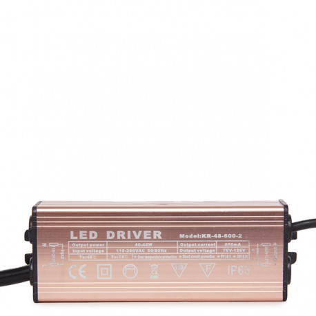 Non Dimmable Driver 0.95PF 50.000H for 42W LED Panels
