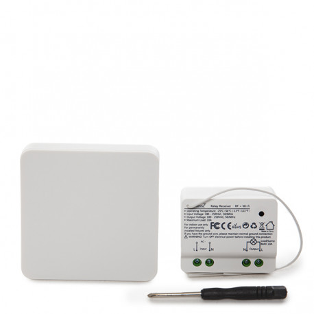"Kinetic Wireless Switch su ""Wi-Fi Relay"""