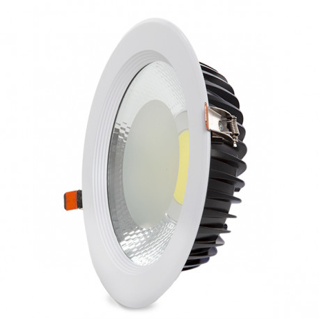 Downlight Led Cob Round 40W 3600Lm 30,000H