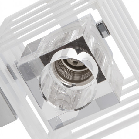 Wall Light Cubo Paula White 1 X G9 (Without Bulb)