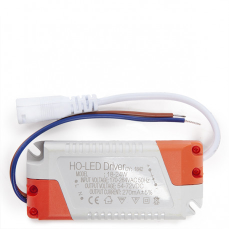 Non Dimmable Driver 0.95PF 50,000H for 25W LED Downlights