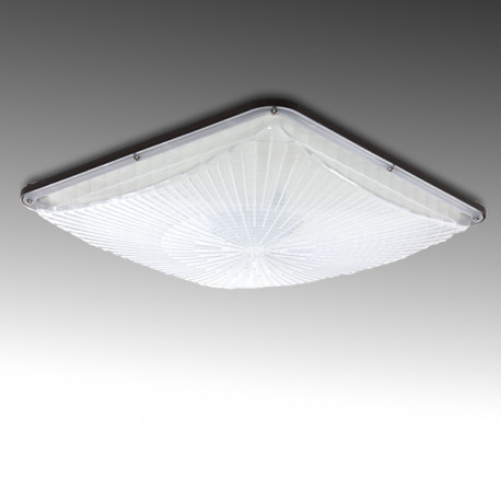 Special Gas Station LED Luminaire Philips 3030 IP65 100W 11000Lm 50.000H