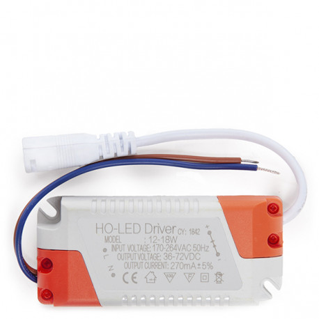 Non Dimmable Driver 0.95PF 50.000H for 18W LED Spotlights / Downlights