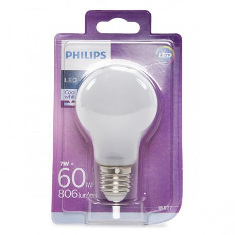 Light Bulb LED Philips E27 A60 7W 806Lm Daylight