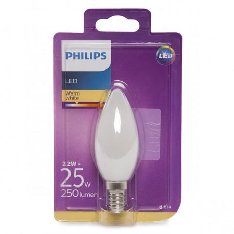 Ampoule E14 Led Philips 2w 250lm Blanc B35 2 Chaud pSUMzVGq