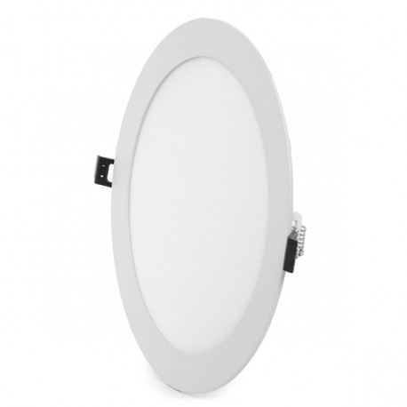Slimline Downlight Ø220mm 20W 1600Lm 30.000H Round