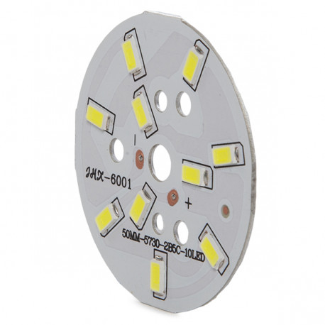 Modul 10 LEDs Ø50Mm 5W 500Lm 50.000H