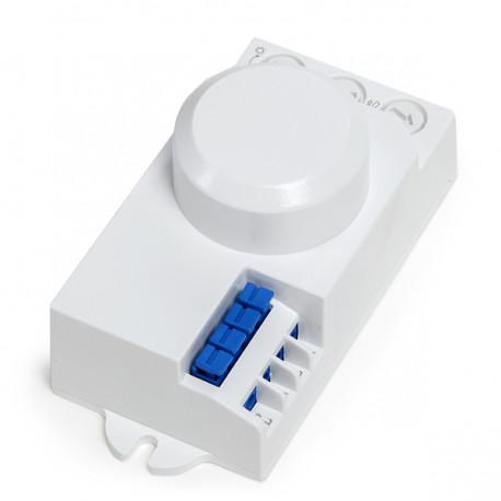 Sensor Movimiento Microondas 360º 2-10M ►1200/300W