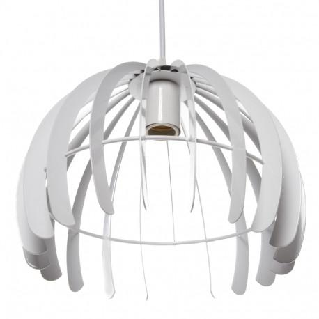 Lámpara Suspendida Trang 1xE27 (Sin Bombillas) Blanco
