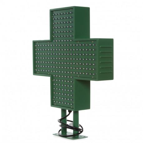 Cruz de Farmacia LED 500x500mm Verde IP65 Control Remoto