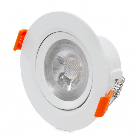"Downlight Apskrito Led ""Anti-Dazzle"" COB 15W 1500Lm 30.000H"