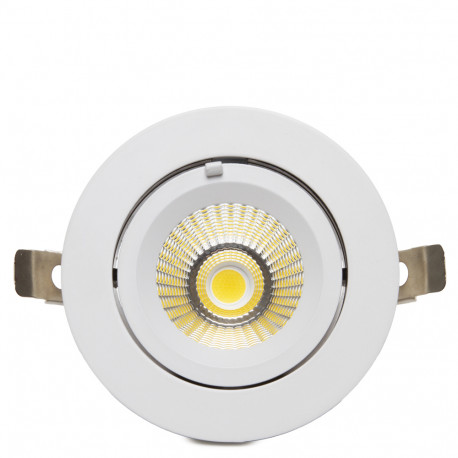 Downlight Orientabil LED 20W 180-240V COB - Kimera