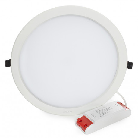 Led Downlight 30W 100-240V 2000Lm 120º Ø267 - Kimera