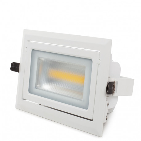 Downlight Rektangulær 45W 110-240V IP44 - Kimera