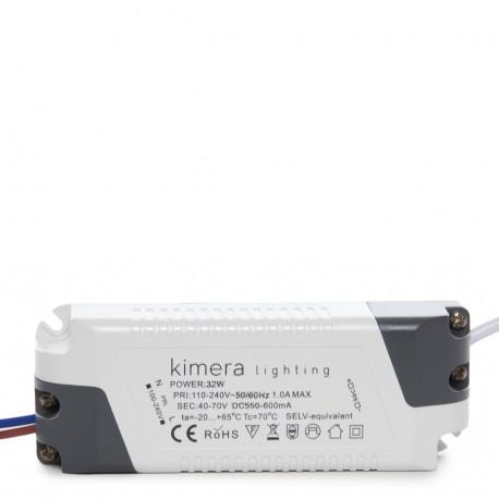 Led Downlight 32W 100-240V 2880Lm 225X225 - Kimera