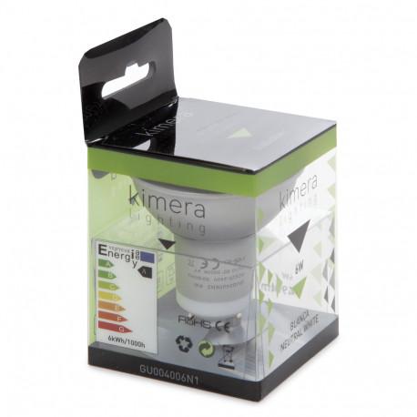 Bombilla de LEDs Plata 6W GU10 230V - Kimera