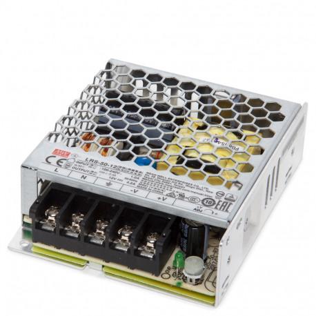 Transformer LED Meanwell 50W 230VAC/12VDC IP20
