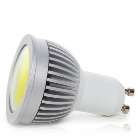 Bombilla de LEDs COB GU10 6W