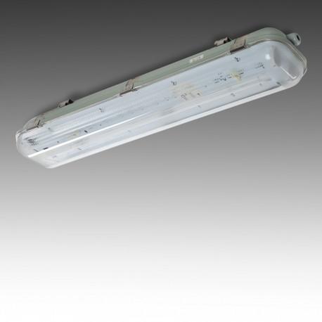 Luminária Estanque IP65 2 x Tube 600mm