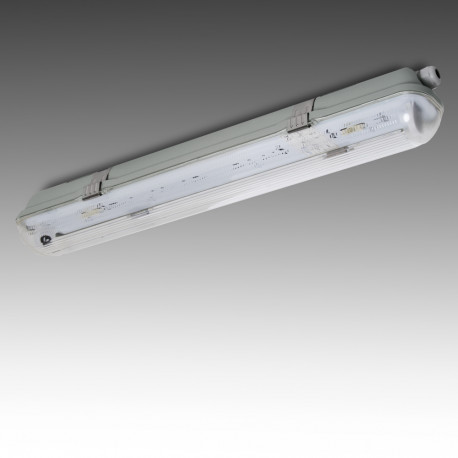 Watertight Luminaire IP65 1 x Tube 600mm