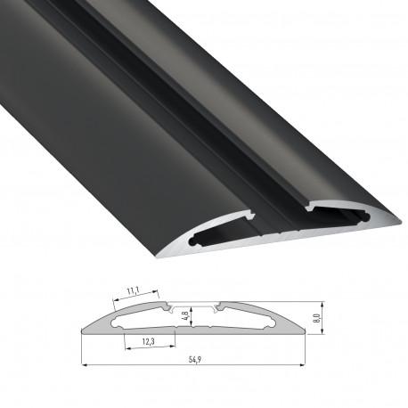 Perfíl Aluminio Tipo RETO 2,02M