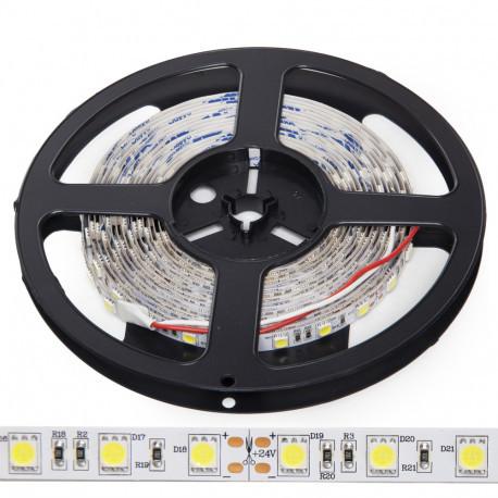 Tira LED 300 x SMD5050 14,4W/M 24VDC IP20 5M