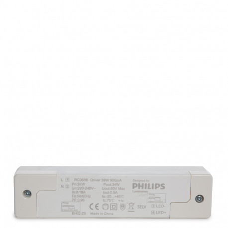 Led Panelisis PHILIPS Ledinaire 38W 90Lm/W 597x597mm