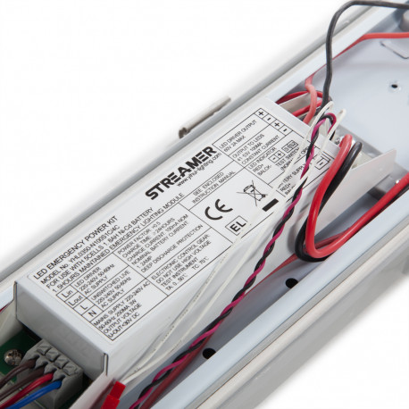 Equipo Estanco 1500MM 54W 4000K Kit Emergencia- Kimera
